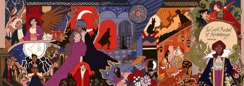 'The Carpet Merchant Of Konstantiniyya' was nominated for the Best Digital Comic Eisner in 2018.