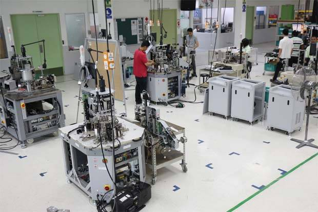 Pentamaster buys most of its components such as motors and sensors from Japan, Europe and China - the latter making up 20% to 30%. In the past few weeks, it has changed the design of some equipment to accommodate parts from outside China, Chuah said.