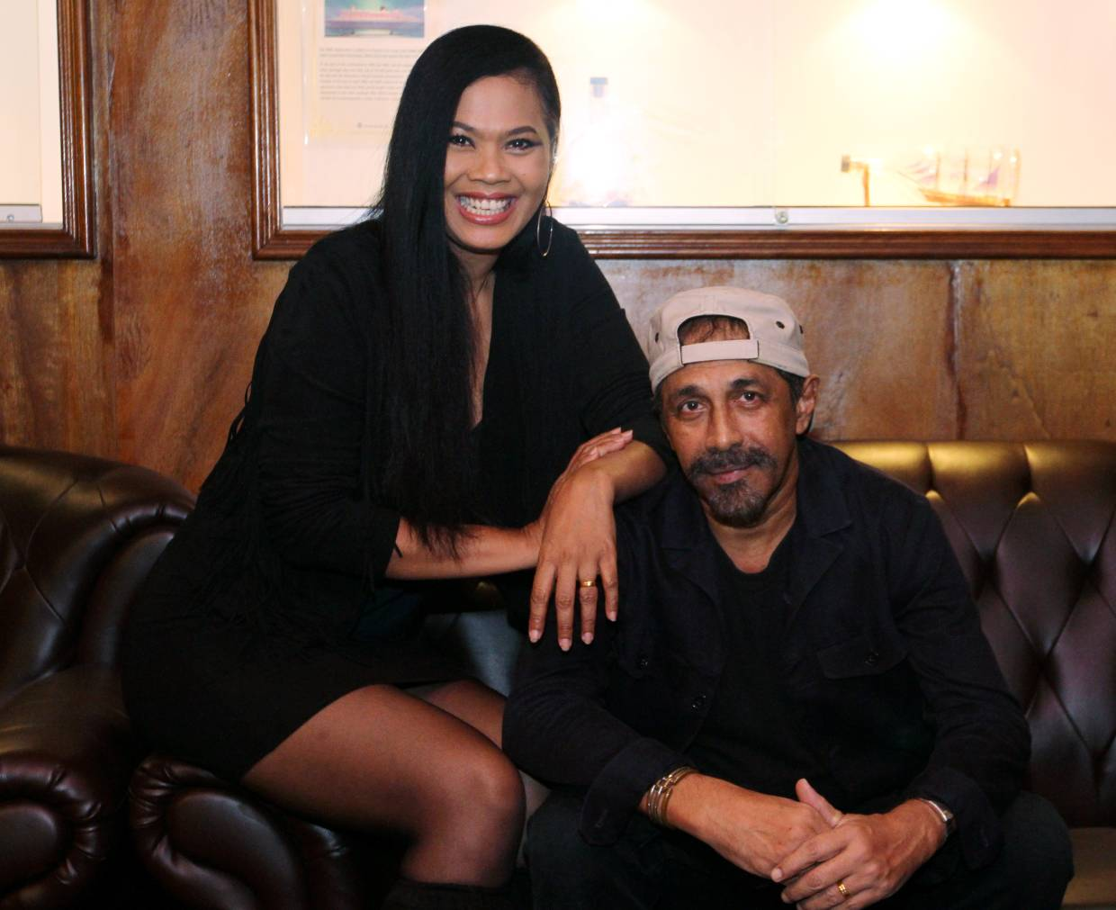 Zack and Lyia have been partners on and off stage for two decades now and have a blast making sweet music together. Photo: Azlina Abdullah/The Star
