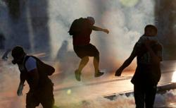 Chile braces for fresh protests on 30th anniversary of return to democracy