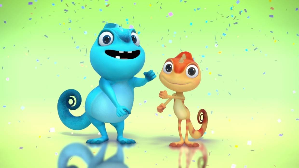The power of animation is far and wide, such as Cam & Leon that teaches kids some really cool dance steps. - Giggle Garage