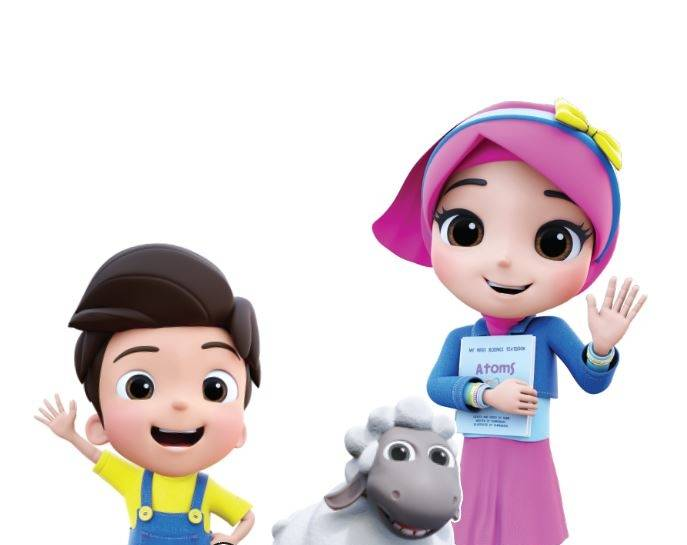 Alif & Sofia, a 3D-animated series first available on the YouTube platform, features wholesome content based on Islamic teachings for today's preschoolers. - Blindspot Studios