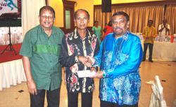Evergreen Rama honoured by association