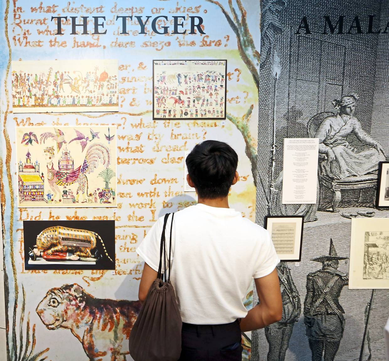 Soon's 'The Tyger And The Navigator' is a project that attempts to reinsert allegory at the heart of historical inquiry. Photo: The Star/Izzrafiq Alias