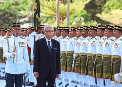 First day at the helm of Mindef