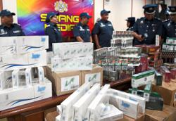 Contraband cigarettes worth RM49,000 seized