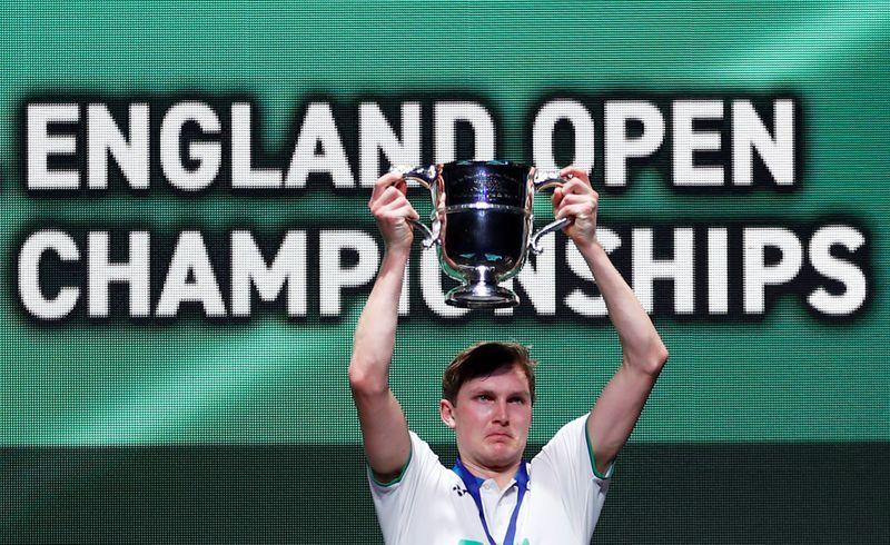 Badminton Denmark S Axelsen Wins All England Title Before Shutdown The Star