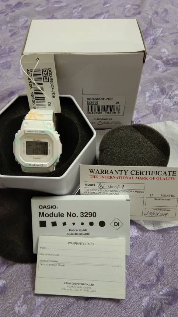 Shahrizal paid RM260 for this watch, saying it's priced around RM300 in retail stores. — Shahrizal Mohd Ramli