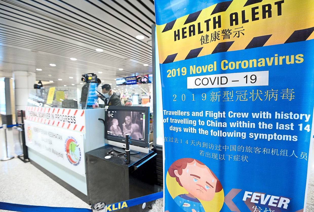 Promoting the importance of screening, conducted here at the Kuala Lunpur International Airport (KLIA), is one of the important communication messages to help address social stigma. — AZHAR MAHFOF/The Star