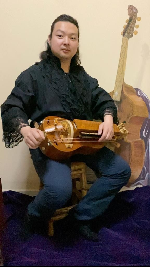 A lot of dedication, sweat and tears went into creating the award-winning hurdy gurdy.