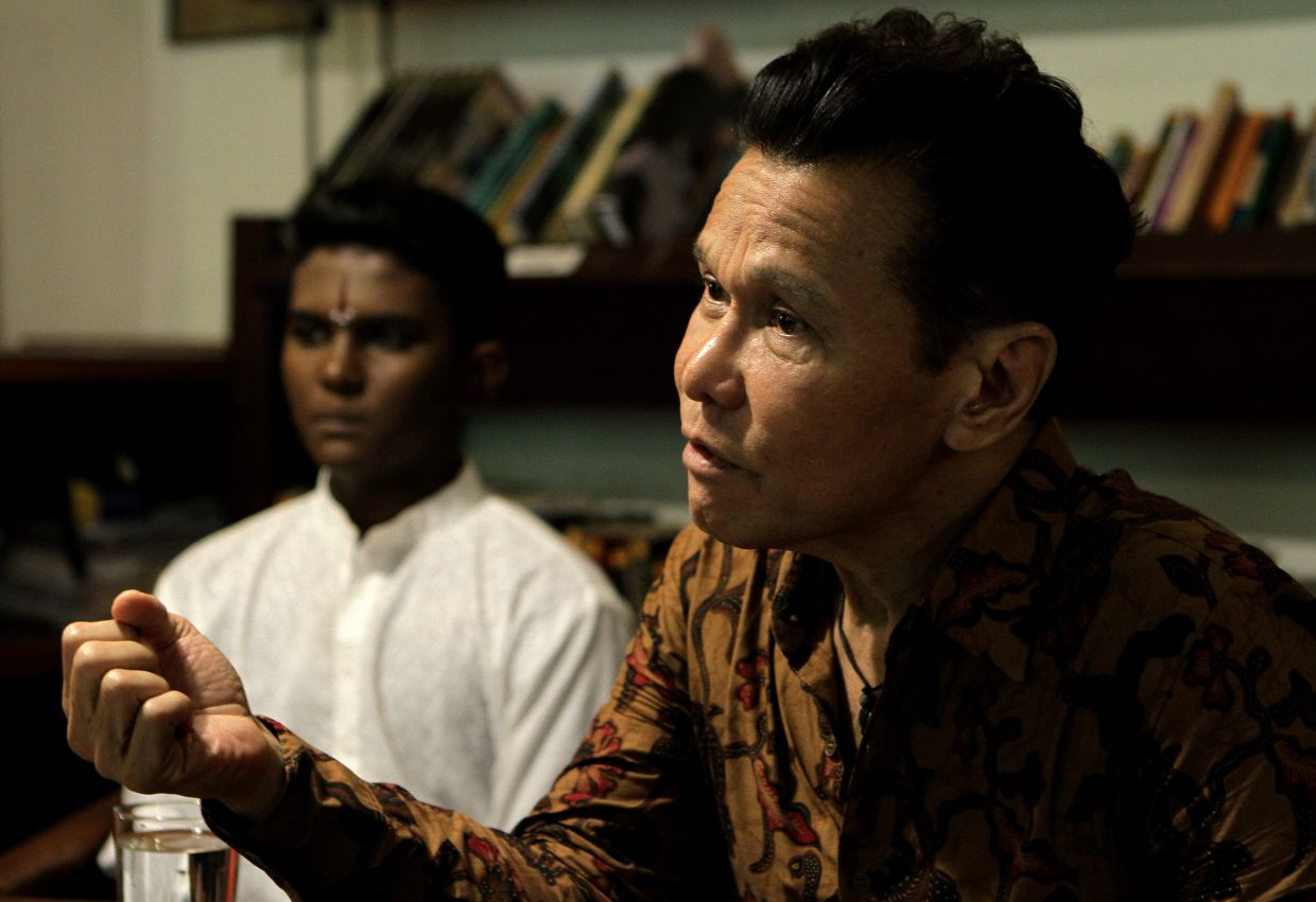 'In these uncertain times we are deeply saddened, but cognisant that our first priority must always be the safety and well-being of our patrons, staff and dancers and also the greater community at large,' says Sutra Foundation's chairman and artistic director Datuk Ramli Ibrahim. Photo: Filepic