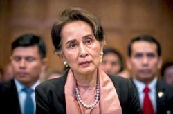 Suu Kyi calls on Myanmarese to help fight against Covid-19