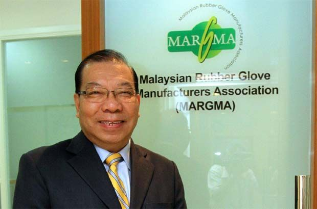 President Denis Low(pic) said that it is the industry's duty to further step up productivity to cater to this enormous requirements for protective medical gloves during these times.