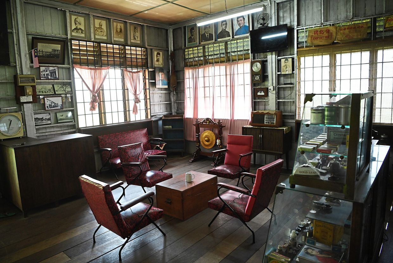 Put on a keroncong tune! The living room area looks like a classic P. Ramlee-movie set. Photo: Bernama