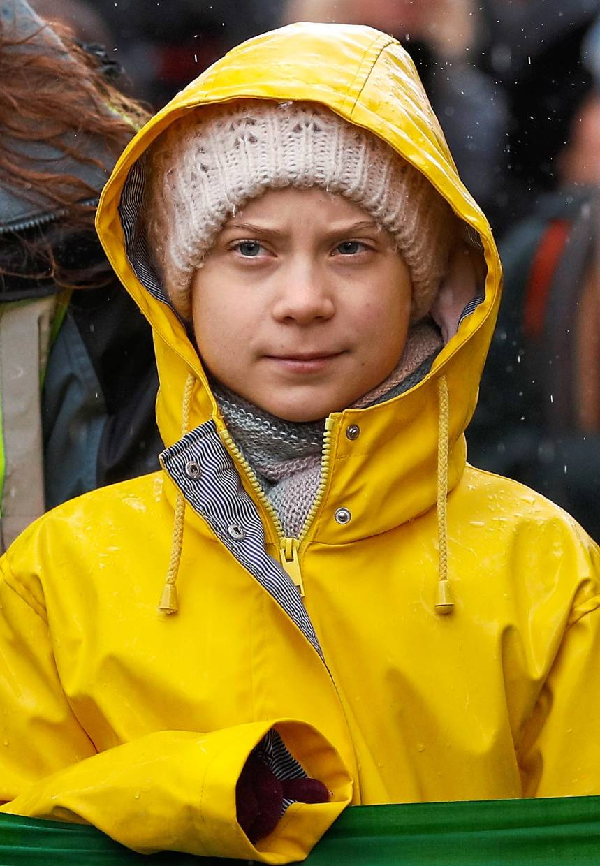 Swedish environmental activist Greta Thunberg prefers to travel by sea than air to reduce her carbon footprint. Photo: Reuters
