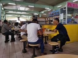 What ban? People are enjoying breakfast at Sibu food court despite ban