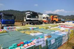 Huge haul of drugs seized in Myanmar's Shan state