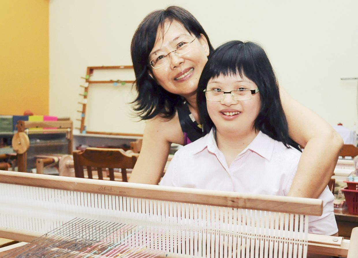 Thanks to job opportunities, Shirley Yeo says her daughter Sara-Anne is more mature and independent.