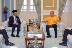 Muhyiddin updates Johor Sultan on Covid-19 situation