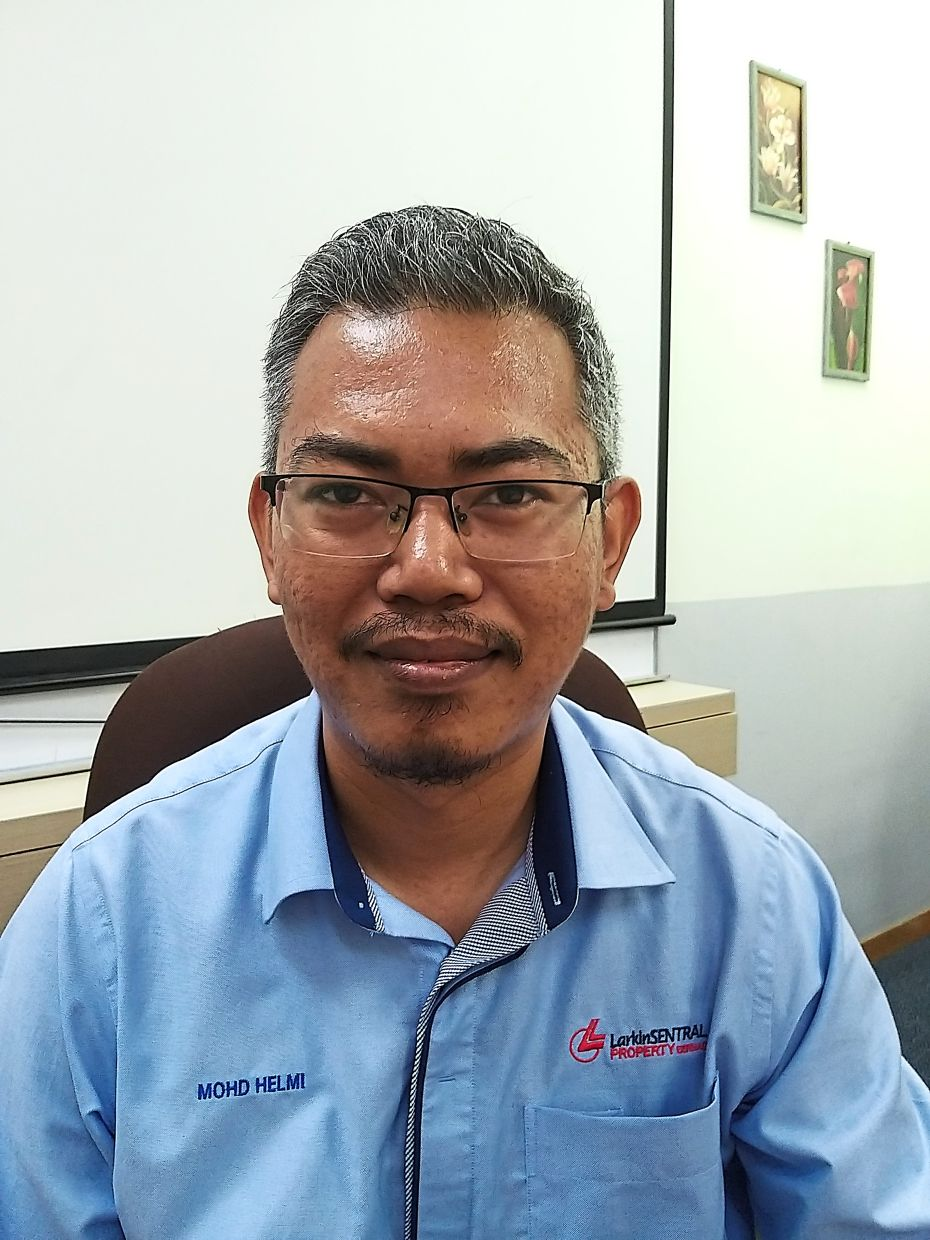 Mohd Helmi says the Larkin Sentral Terminal will be thoroughly cleaned and disinfected daily.