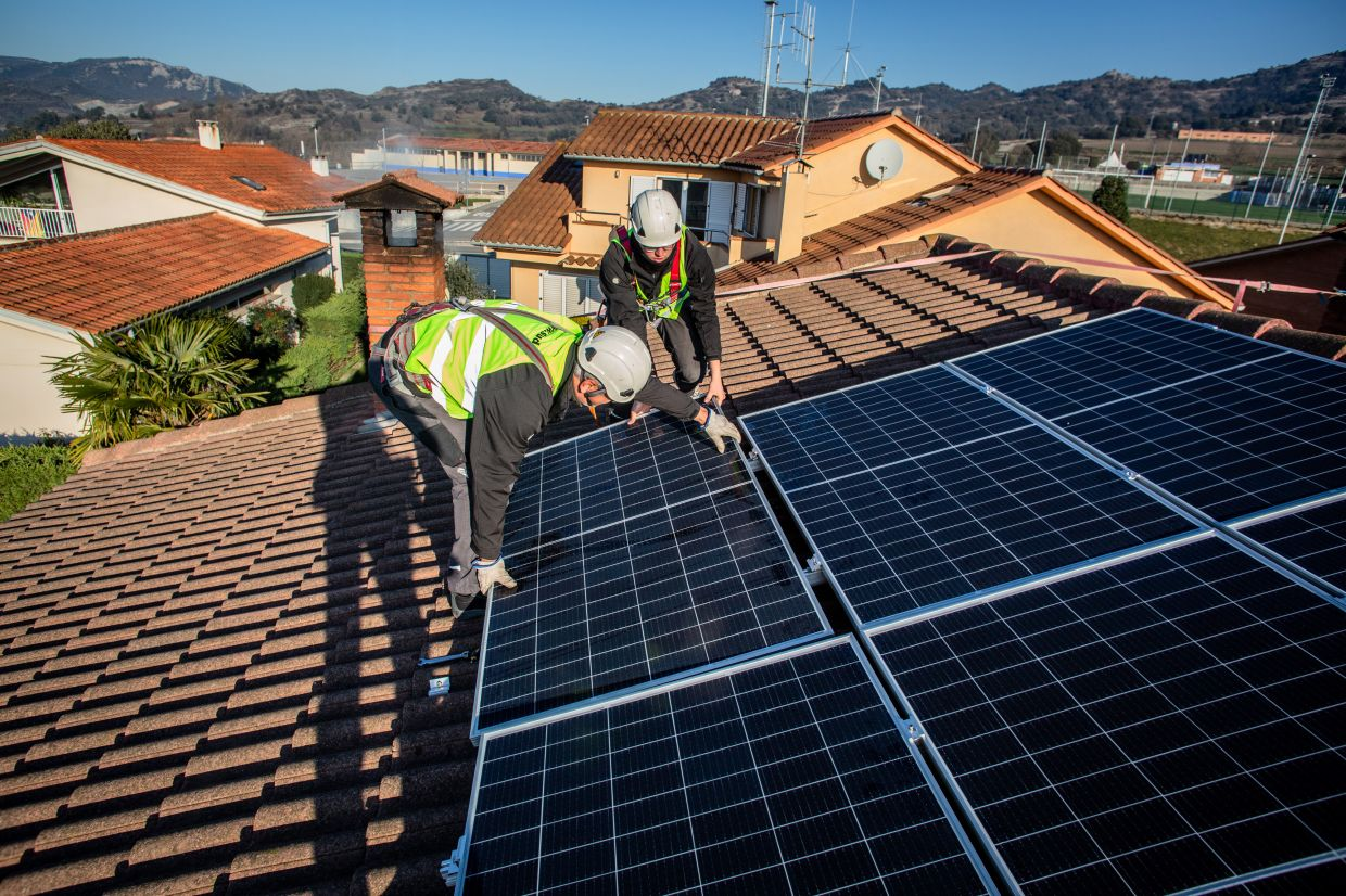 "Under the NEM programme, energy produced by the solar panels is first utilised for the house and the excess is ""sold"" as credit on a one-on-one offset basis. — Bloomberg"