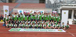 Junior race walkers show potential