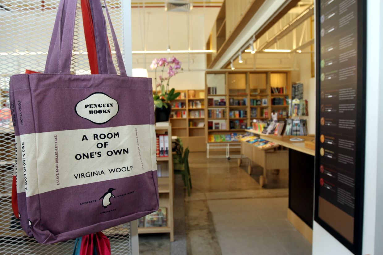 Lit Books will be relying on its database, shop blog and social media to connect with its customers. Photo: The Star/Low Lay Phon