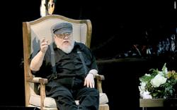 Author George R.R. Martin is writing his next novel in self-isolation