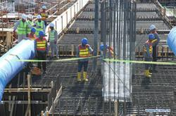 China resumes construction of nearly 90% of infrastructure projects