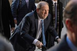 Disgraced media mogul Harvey Weinstein has Covid-19