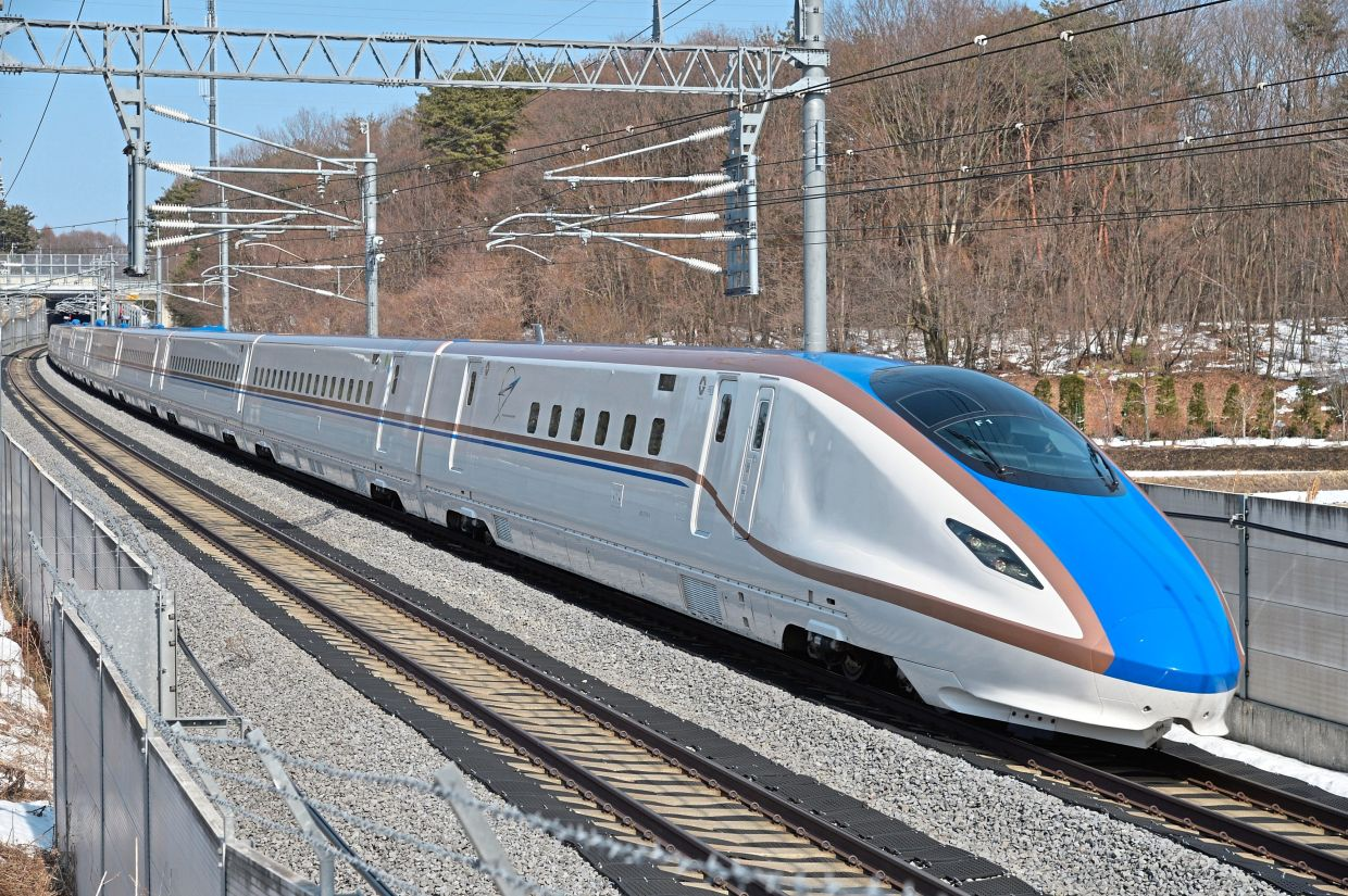 The Shinkansen in Japan is a great way to travel within the country, but tickets are not cheap. — Filepic