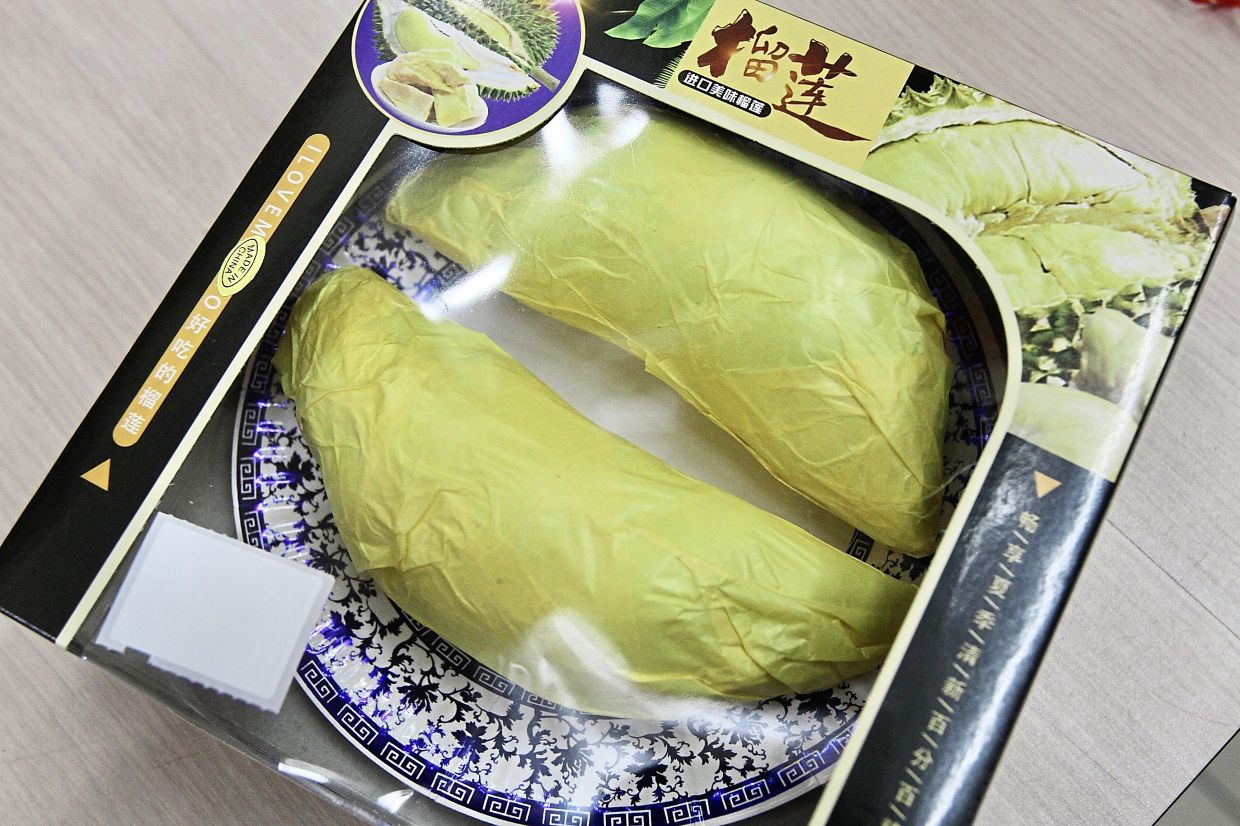 An ample portion of 'Musang King durian' for souls who love the fruit.