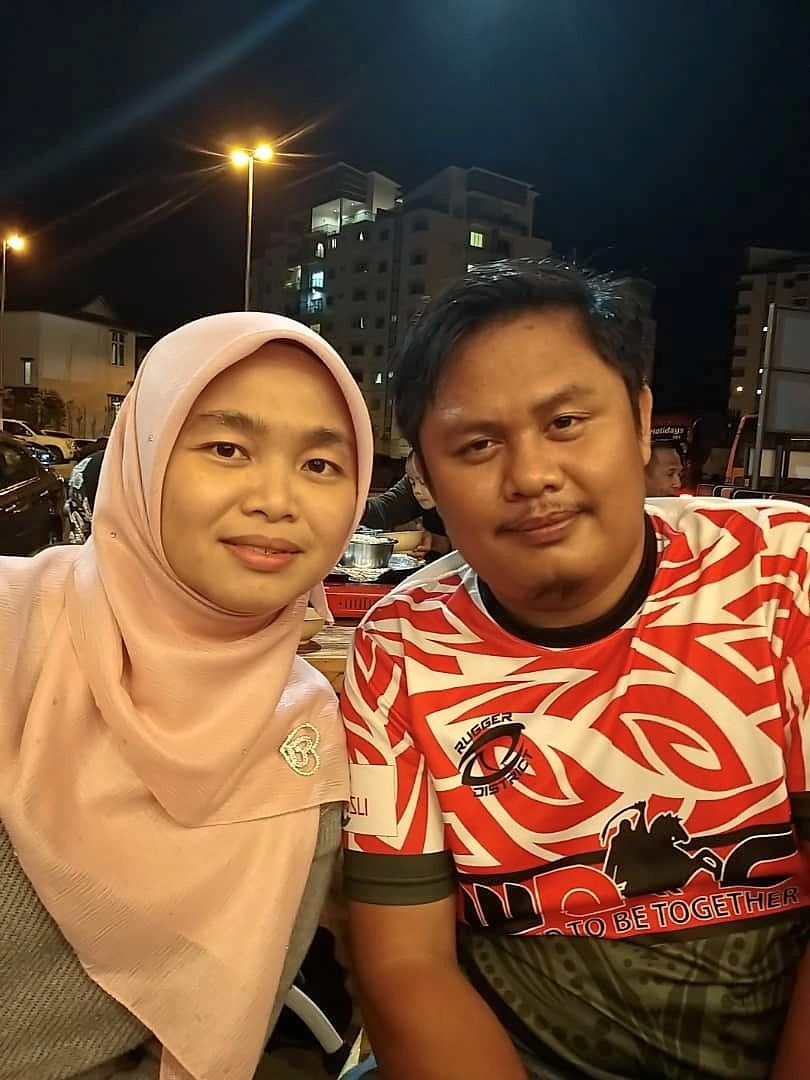 Saidatul Solehah Mohamad Nor is worried about the safety of her husband.