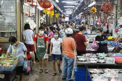 Better crowd control at Ayer Itam market