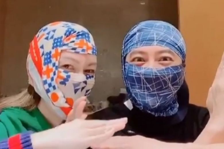 Hk Singer Eric Suen Uses Boxer Briefs To Make Face Masks The Star