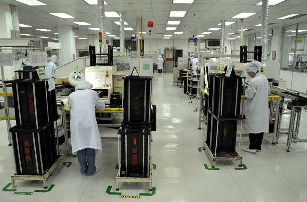 VS Industry plant Senai