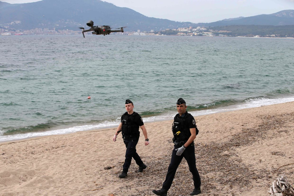 Unlike China, France does not now allow drones to be used for facial recognition, though they are capable of doing so from several hundred metres (yards) away.