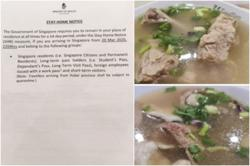Singaporean who allegedly breached stay-home notice for bak kut teh may be charged