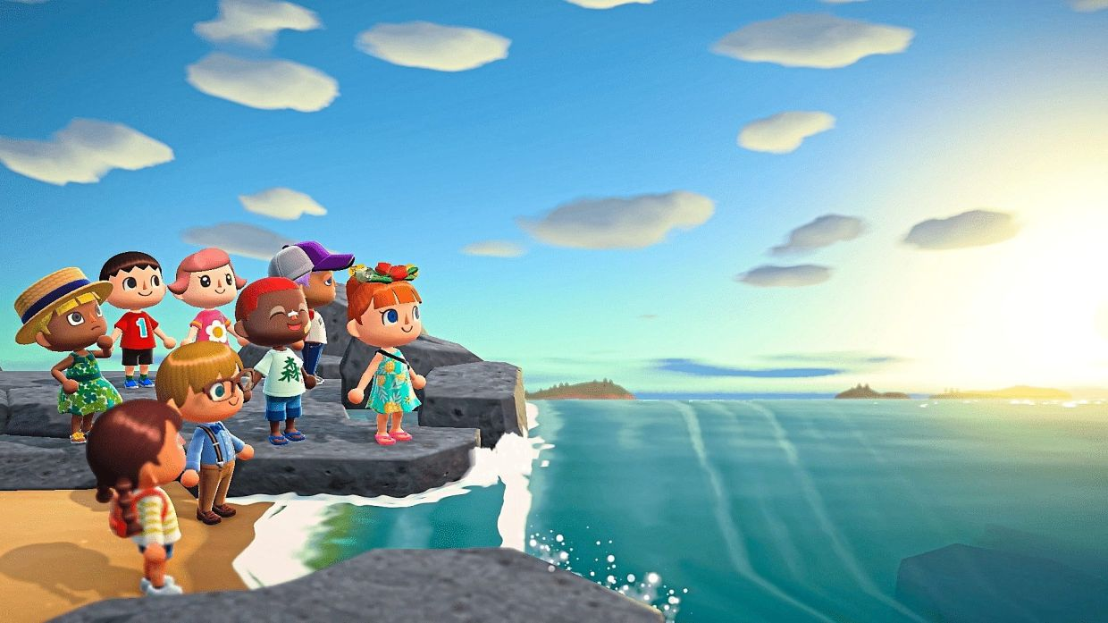 Animal Crossing lets players escape to a deserted island and build their own community and paradise. — AFP Relaxnews