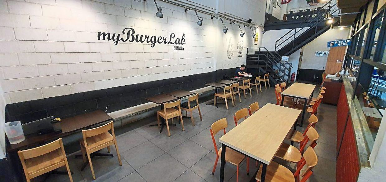Restaurants these days are eerily quiet, now that customers can no longer dine in. — MyBurgerLab