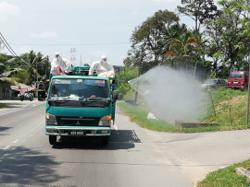 Disinfection of public areas begins across Johor