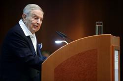 George Soros gives 1 million euros to Budapest's coronavirus fight