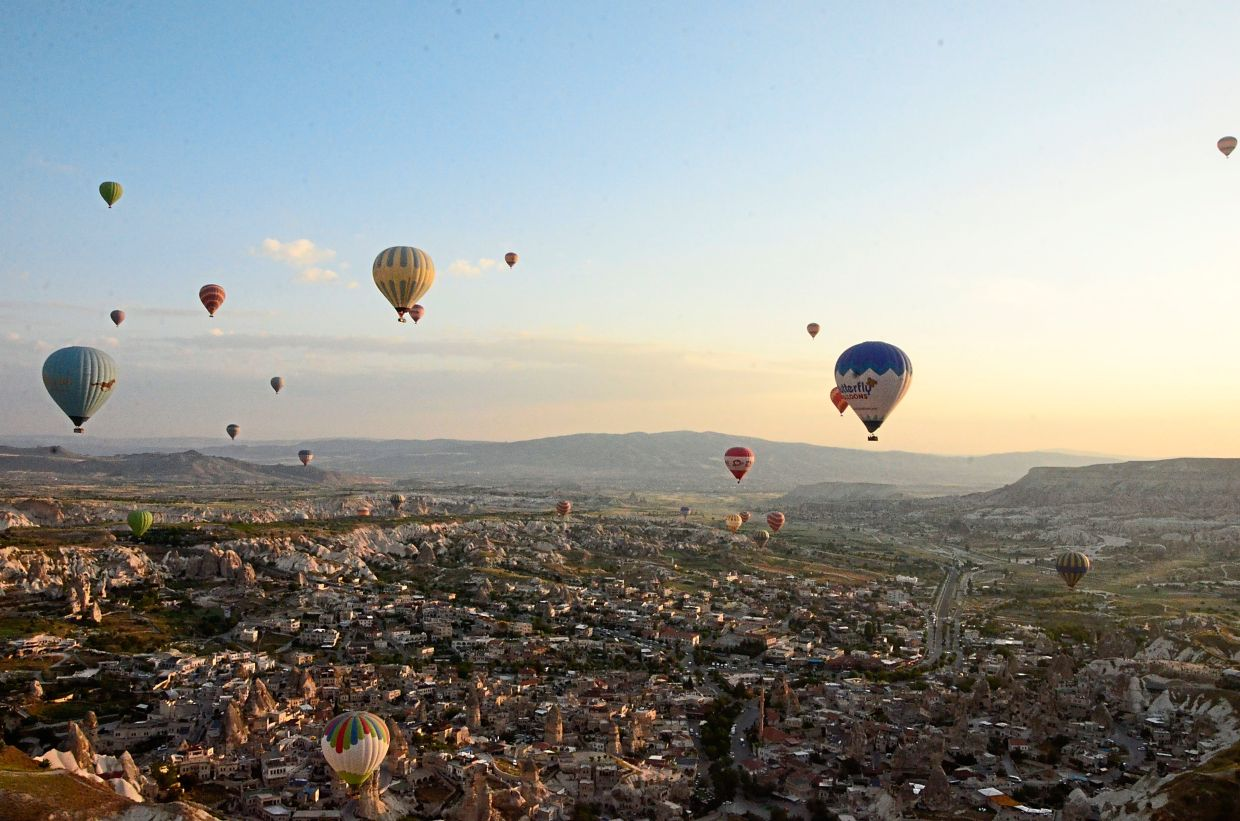 There is more to Cappadocia in Turkey than just hot air balloons. Once it is safe for everyone to travel again, take the time to appreciate a destination holistically and not just for the sake of taking cool pictures to boost your social media presence. — Filepic