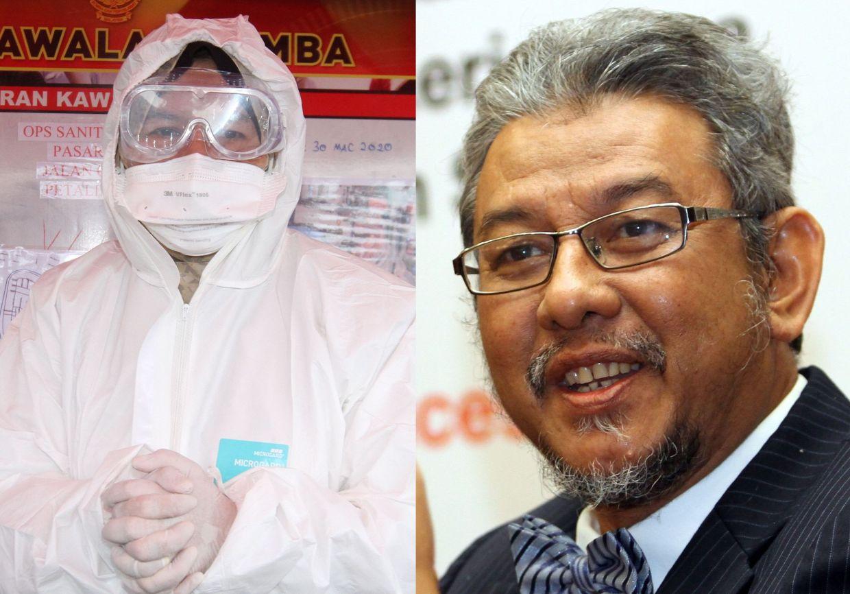 Ex-deputy Health DG slams minister over disinfection 'publicity stunt'