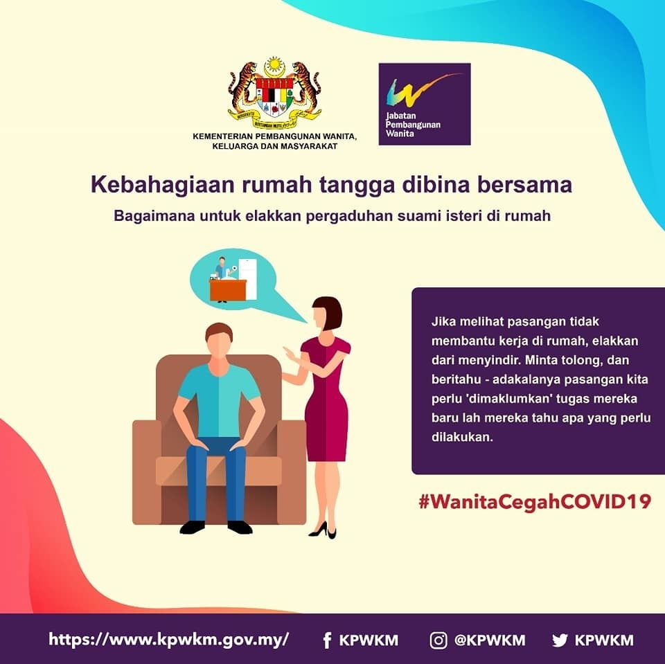 MCO: Malaysia's women's affairs ministry calls on women to 'stop nagging, use makeup' in coronavirus advice