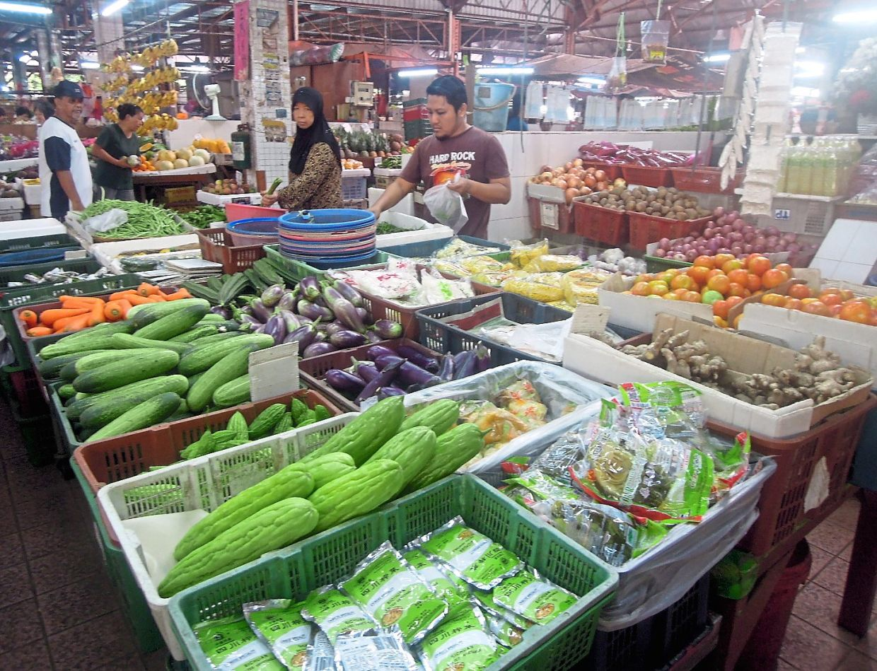 Johoreans told not worry as Johor is the main supplier for vegetables, fruits, chicken, eggs and meat in the country and has enough supply.