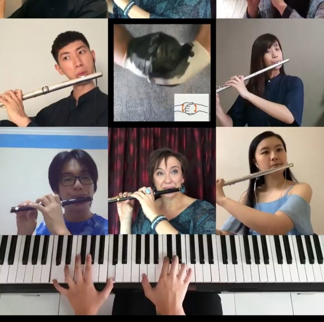 Get classical! MPYO musicians get together online for a hand-washing video tutorial