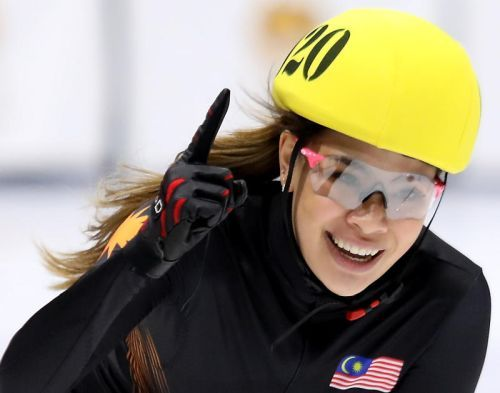 Anja is dubbed Malaysia's 'Ice Queen'.