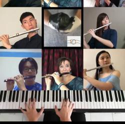 Get classical! MPYO musicians get together online for hand-washing tutorial