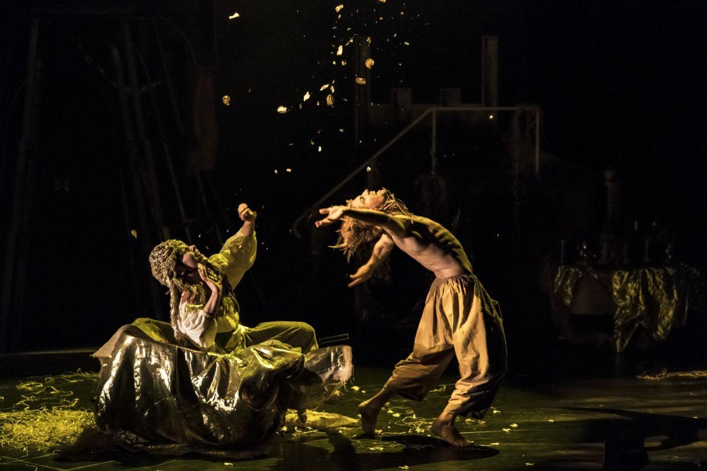 Liv Lorent's fairytale dance theatre 'Rumpelstiltskin' from Sadler's Wells in London. Photo: Bill Cooper
